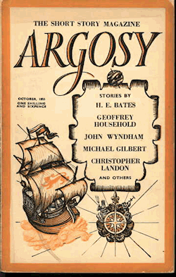 The cover of the September 1946 issue of the British Argosy magazine