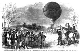 A US Civil War observation balloon