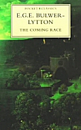 The cover of a modern reprint of Bulwer-Lytton's novel The Coming Race.
