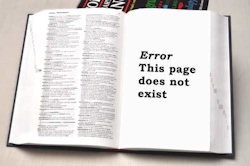 Error: this page does not exist