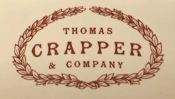 Thomas Crapper's logo