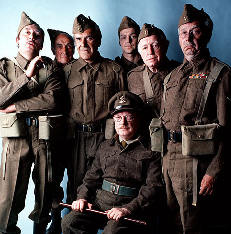 The cast of the BBC television series Dad's Army