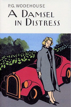 The cover of 'A Damsel in Distress'
