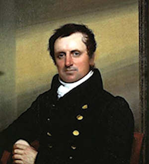 Portrait of James Fenimore Cooper