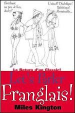 The cover of Miles Kington's 'Let's Parler Franglais'