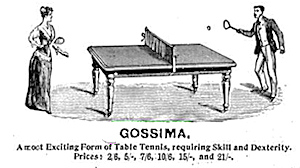 Advert for Gosima