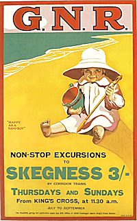 A railway poster of 1907