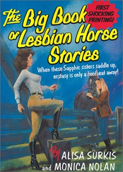 The cover of The Big Book of Lesbian Horse Stories.