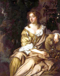Portrait of Nell Gwyn by Sir Peter Lely