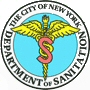 The logo of the New York Department of Sanitation.