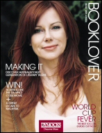 The cover of 'Booklover' magazine from Dymocks for May-June 2006