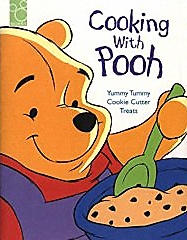The cover of the Disney work 'Cooking With Pooh'