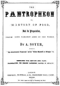 Title page of 'Pantropheon'
