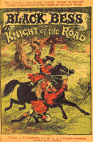 The cover of Black Bess, Knight of the Road
