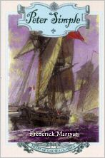 The cover of Peter Simple by Captain Marryat, in the edition published in the USA by Henry Holt