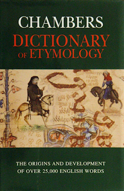 The cover of Chambers Dictionary of Etymology