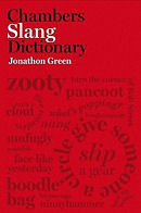 The cover of the Chambers Dictionary of Slang