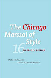 The cover of the Chicago Manual of Style