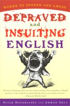 The cover of Depraved and Insulting English