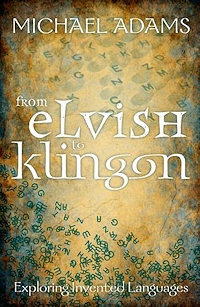 The cover of From Elvish to Klingon