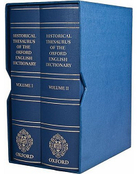 The two-volume Historical Thesaurus