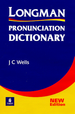 The cover of the Longman Pronunciation Dictionary
