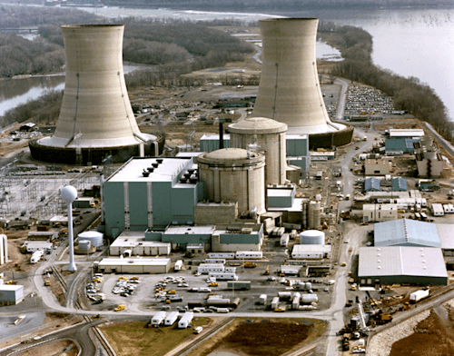 Three Mile Island in 1979
