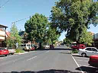A view of the main street of Tumbarumba