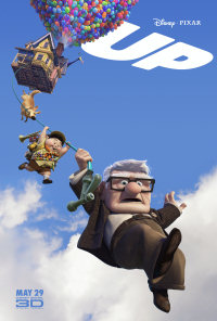 A poster for the Disney Pixar 3S animated film Up