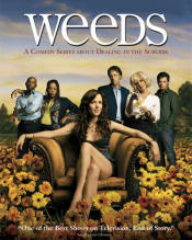 The cover of the DVD of the second season of 'Weeds'