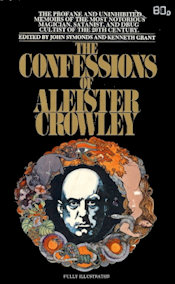 Cover of Crowley's autohagiography