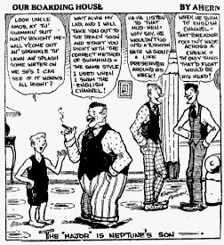 An early appearance of Major Hoople in Gene Ahern's comic strip