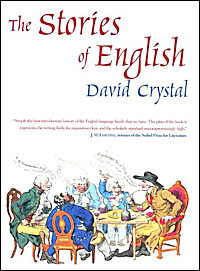 The cover of 'The Stories of English'